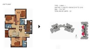 House Plan 1761 Square Feet 57 Ft Century Breeze In Jakkur 2 Bhk 3 Bhk Flats In Jakkur Properties In