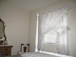 Ruffled Priscilla Curtains Cheerful Thrifty Door Priscilla Curtains Timeless Elegance