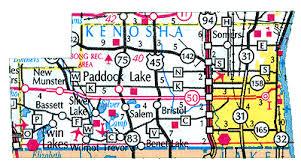 kenosha map kenosha county wisconsin county parks lake maps county maps
