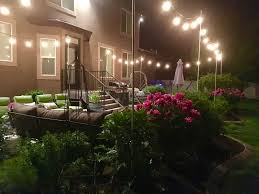 Diy Patio Lighting by Restlessrisa Outdoor Yard Lights For Under 150