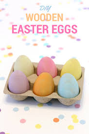 wooden easter eggs that open diy wooden easter eggs all things target
