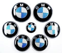 logo bmw m3 bmw blue silver carbon fiber emblem badge logo for hood front