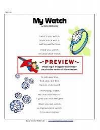 flibbertigibbet poem super teacher worksheets