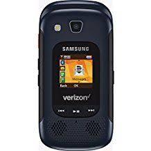 Rugged Phone Verizon Samsung Gusto 3 Sm B311v Dark Blue Verizon Cellular Phone