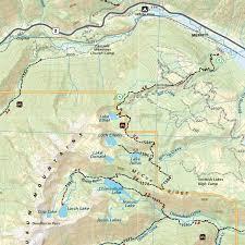Washington Maps by Wenatchee Leavenworth Washington Trail Map Adventure Maps