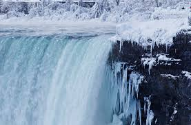 photo gallery niagara falls partially freezes multimedia