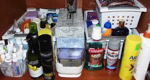 professional bathroom organizing