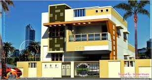 modern home design front view and landscaping magnificent indian