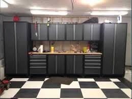Kitchen Cabinets In Garage Garage Inside Pics Collection Garage Cabinets Lowes Youtube
