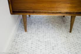 decorative mid century modern bathroom floor tile engaging mid