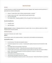 sample waitress resume lukex co