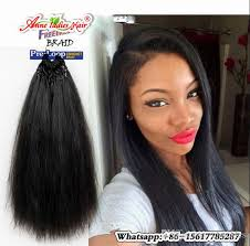 pictures if braids with yaki hair 2packs yaki straight loop hair extension 18inch synthetic braiding