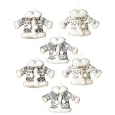 s 6 asst 8 in h winter ornaments 2305240ec the home depot
