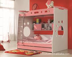 Bedroom Wonderful Bunk Beds With Stairs For Kids Bedroom - Pink bunk beds for kids