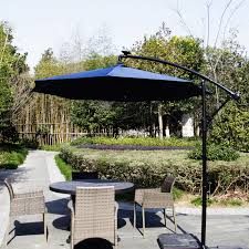 Ebay Patio Umbrellas by 9 U0027 Outdoor Patio Umbrella Led Lighted Solar Powered Umbrella