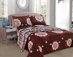 Burgundy Duvet Sets Tache 3 4 Piece Burgundy Palace Fancy Patterned Fitted And Flat