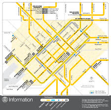 Map Of Melbourne Florida by Melbourne Downtown Tram Map City Center U2022 Mapsof Net
