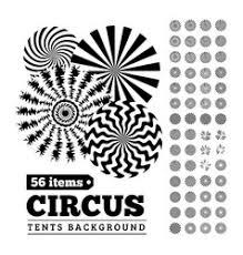 circus tent u0026 border vector images 69