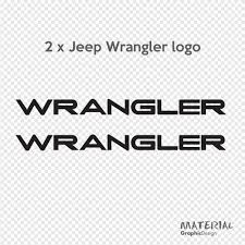 jeep wrangler logo 2x jeep wrangler logo sticker decal moab sahara rubicon x car