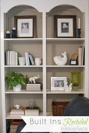 How To Decorate A Bookshelf Accessories Alluring Images About Painted Bookshelves Built