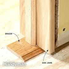 Repair Interior Door Frame How To Replace Door Frame How To Repair Fix A Kicked In Split