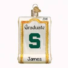 michigan state ornaments gifts