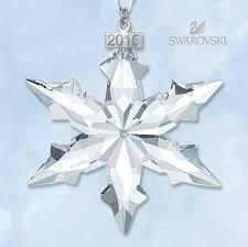 swarovski jewellry 2015 limited edition snowflake