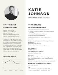 theater resume template beige modern theatre resume templates by canva