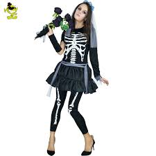Halloween Costume Skeleton Buy Wholesale Skeleton Women Costume China Skeleton