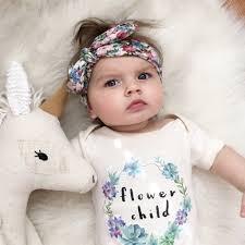 baby headband floral baby headband baby co