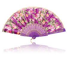 japanese folding fan vintage silk butterflies pattern fan japanese