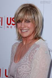 back view of short shag hairstyles linda gray short razor cut shag hairstyle with a side swept fringe