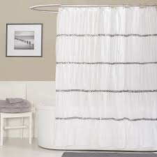 Better Homes Shower Curtains by Amazon Com Lush Decor Twinkle Shower Curtain White Home U0026 Kitchen