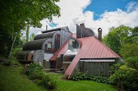 Building A House On A Slope A Whistler A Frame Alpine Modern