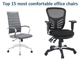 Most Confortable Chair Top 15 Most Comfortable Office Chairs In 2017 Officegearzone