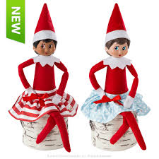 on the shelf clothes claus couture collection twirling in the snow skirts santa s