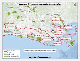 Map Louisiana by Louisiana Grp Map