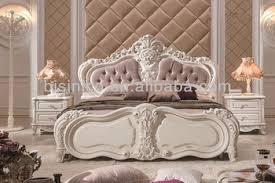 binisi royal bedroom furniture graceful wood carved bedroom set
