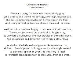 the spider diy free poem printable simple