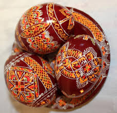 painted wooden easter eggs handmade pysanky wooden eggs 3 wooden ukrainian handpainted