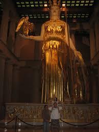 Parthenon Interior Parthenon Interior Athena Statue Mapio Net
