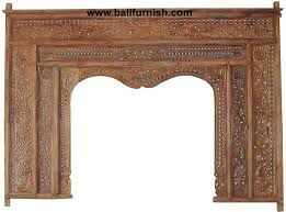 balinese style home furnishing product traditional carved