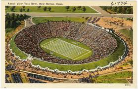 Yale Flag File Aerial View Yale Bowl New Haven Conn 61774 Jpg
