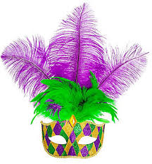 mardi gras mask with feathers masquerade masks mardi gras masks party city