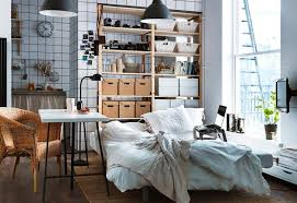 Living Room Ikea Studio Apartment Design Ideas Small Apartment - Small studio apartment design ideas