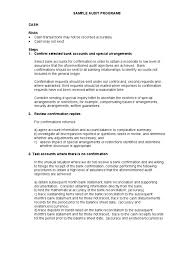 sample audit program accounts payable inventory