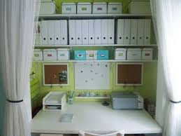Office Closet Organizer  Images About Office In Disguise On - Closet home office design ideas