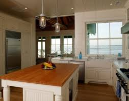 Rustic Kitchen Island Table Kitchen Wonderful Rustic Kitchen Pendant Lights Over Kitchen