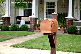 our vintage home mailbox ideas