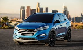hyundai crossover 2016 2017 hyundai tucson night debuts at sema u2013 news u2013 car and driver